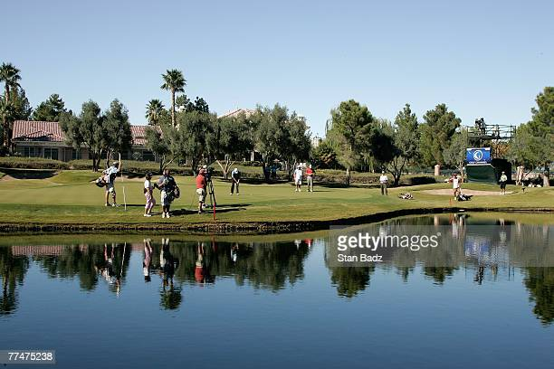 A course scenic at the 12th green during the fourth round of the Fryscom Open benefiting Shriners Hospitals for Children at TPC Summerlin October 14...