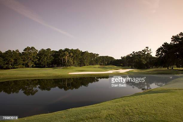A course scenic at the 12th hole at the TPC Sawgrass in Ponte Vedra Beach FL on June 18 2007 Photo by Stan Badz/PGA TOUR Photos