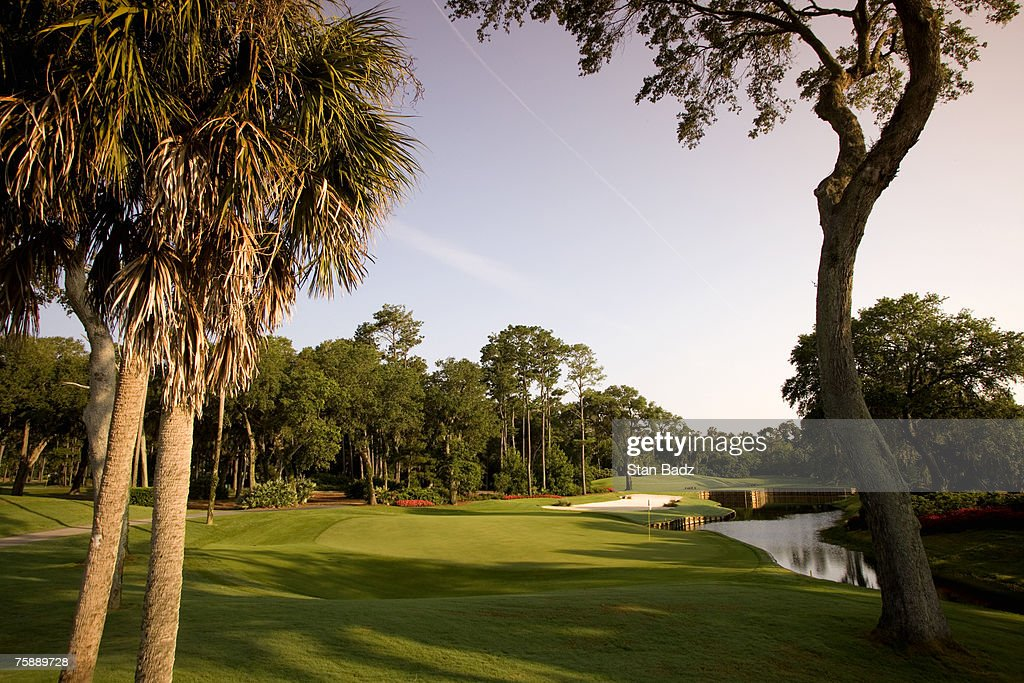 A course scenic at the 13th hole at the TPC Sawgrass in Ponte Vedra Beach FL on June 18 2007 Photo by Stan Badz/PGA TOUR Photos