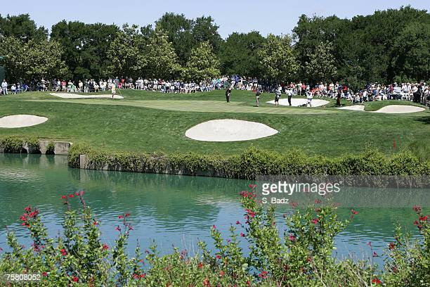 A course scenic during the first round of the EDS Byron Nelson Championship on the Tournament Players Course and Cottonwood Valley Course at TPC Four...