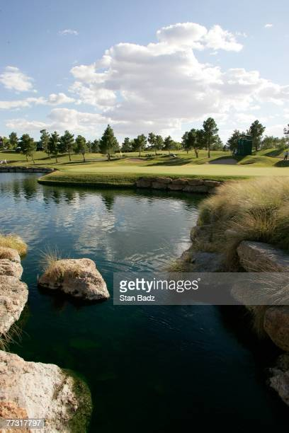 A course scenic of the 16th hole is seen during the third round of the Fryscom Open benefiting Shriners Hospitals for Children at TPC Summerlin on...