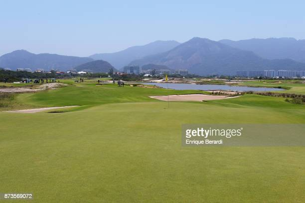 A course scenic of the fourth hole during the third round of the PGA TOUR Latinoamerica 64 Aberto do Brasil at the Olympic Golf Course on October 14...