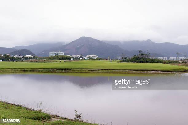 A course scenic of the second hole during the final round of the PGA TOUR Latinoamerica 64 Aberto do Brasil at the Olympic Golf Course on October 15...