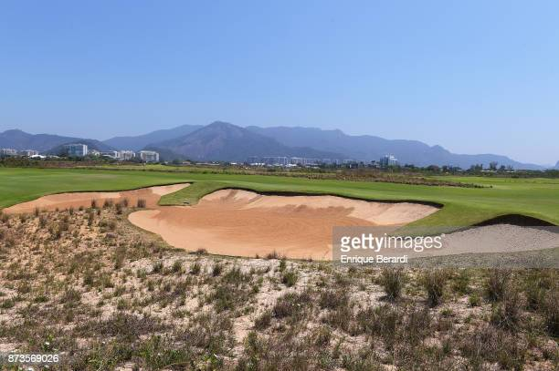 A course scenic of the seventh hole during the third round of the PGA TOUR Latinoamerica 64 Aberto do Brasil at the Olympic Golf Course on October 14...
