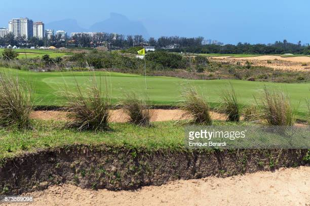 A course scenic of the sixth hole during the third round of the PGA TOUR Latinoamerica 64 Aberto do Brasil at the Olympic Golf Course on October 14...