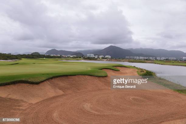 A course scenic of the third hole during the final round of the PGA TOUR Latinoamerica 64 Aberto do Brasil at the Olympic Golf Course on October 15...