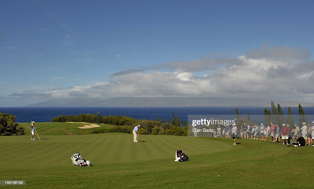 A course scenic shot of the 13th green during the final round of the Hyundai Tournament of Champions at Plantation Course at Kapalua on January 8, 2013 in Kapalua, Maui, Hawaii.