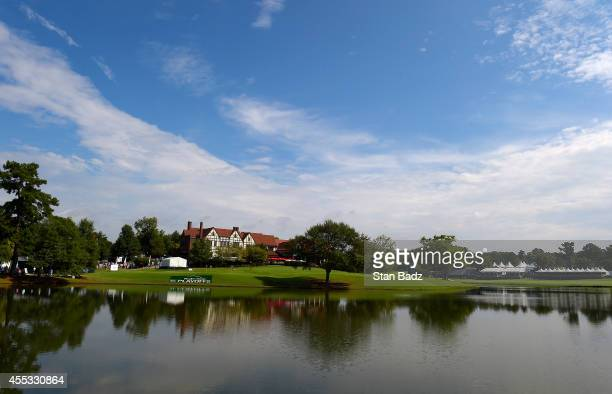 A course scenic shot of the East Lake clubhouse during the second round of the TOUR Championship by CocaCola the final event of the PGA TOUR Playoffs...