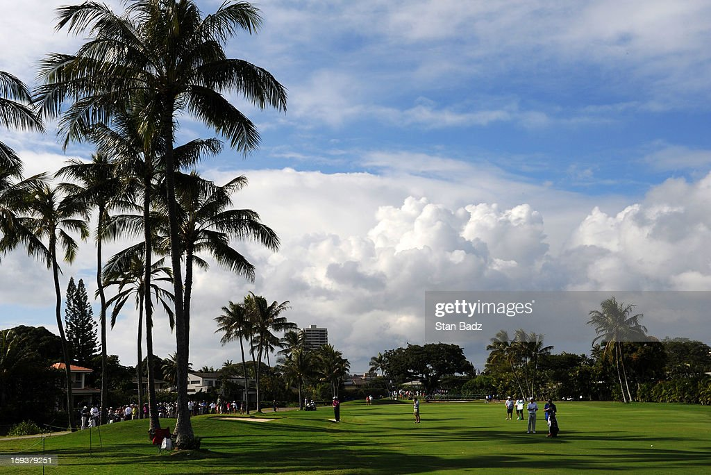 A course scenic shot of the ninth hole during the third round of the Sony Open in Hawaii at Waialae Country Club on January 12, 2013 in Honolulu, Hawaii.
