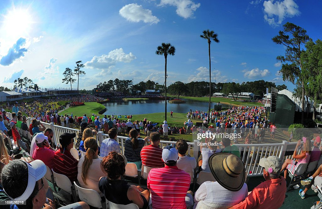 A course scenic shot on the 17th hole during the final round of THE PLAYERS Championship on THE PLAYERS Stadium Course at TPC Sawgrass on May 12, 2013 in Ponte Vedra Beach, Florida.