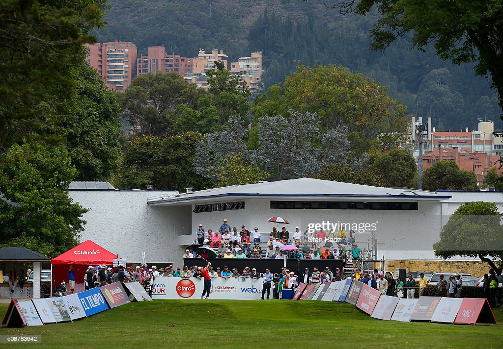 A course scenic view of the first hole during the third round of the Web.com Tour Club Colombia Championship Presented by Claro at Bogotá Country Club on February 6, 2016 in Bogotá, Colombia.