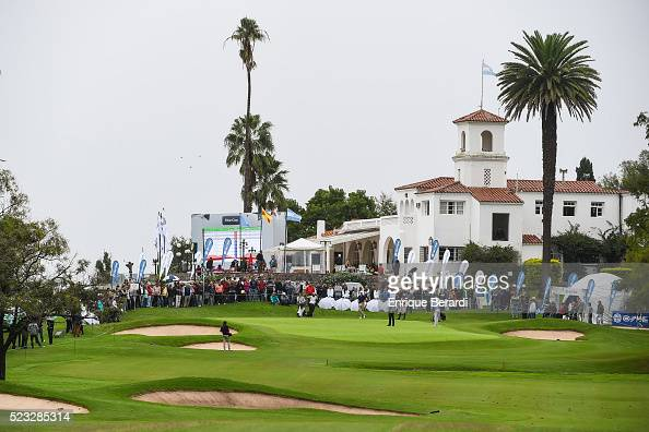 A course scenic view of the ninth hole during the final round of the PGA TOUR Latinoamerica 85������ Abierto OSDE del Centro presentado por FiberCorp...