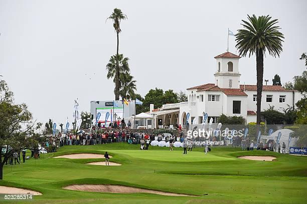 A course scenic view of the ninth hole during the final round of the PGA TOUR Latinoamerica 85������ Abierto OSDE del Centro presentado por FiberCorp...