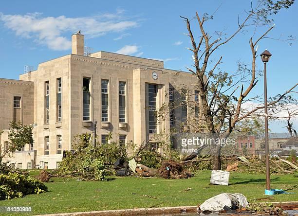 Court House Tornado Damaged
