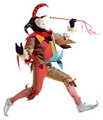 Court Jester (Clipping Paths Included)