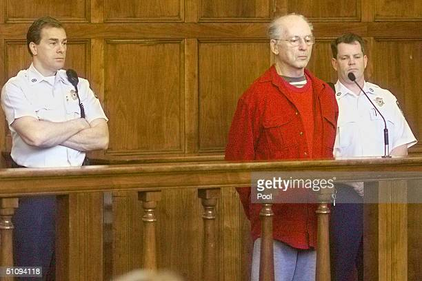 Court Officers Flank Former Catholic Priest Paul Shanley During His Arraignment At Newton District Court May 7 2002 In Cambridge Ma The 71YearOld Was...