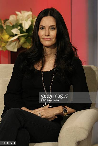 TODAY Courteney Cox Air Date Pictured Actress Courteney Cox on NBC News' 'Today' on February 27 2008 Photo by Heidi Gutman/NBC NewsWire