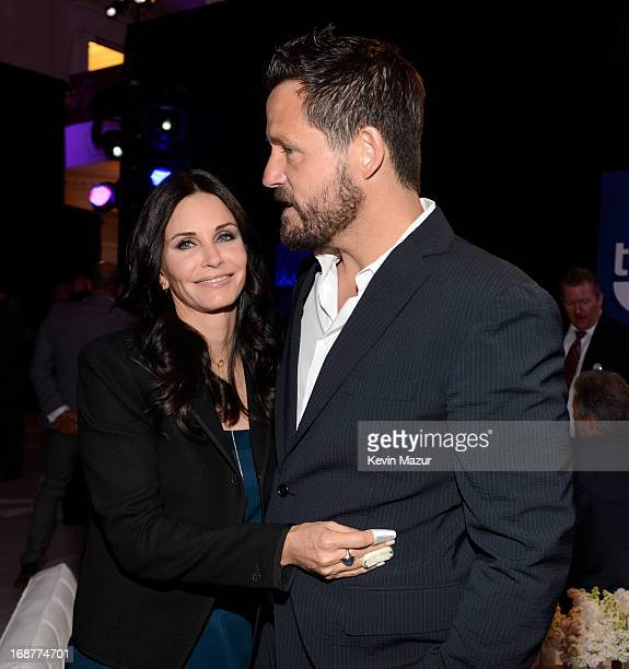 Courteney Cox and Josh Hopkins attend the 2013 TNT/TBS Upfront at Hammerstein Ballroom on May 15 2013 in New York City 23562_002_0391JPG