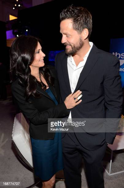 Courteney Cox and Josh Hopkins attend the 2013 TNT/TBS Upfront at Hammerstein Ballroom on May 15 2013 in New York City 23562_002_0394JPG