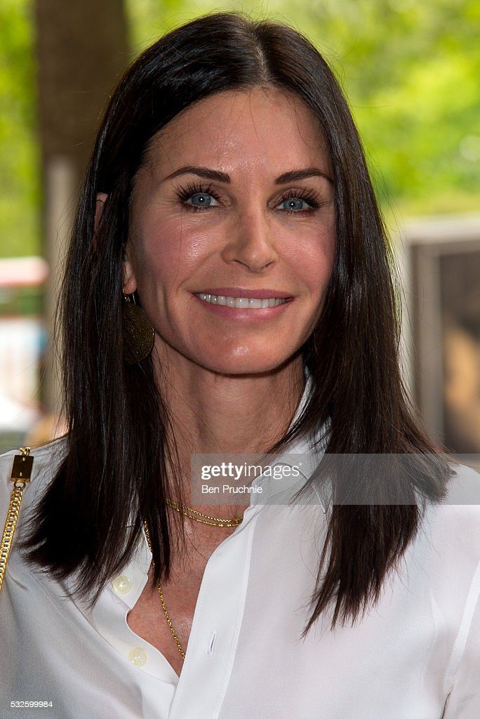 <a gi-track='captionPersonalityLinkClicked' href=/galleries/search?phrase=Courteney+Cox&family=editorial&specificpeople=203101 ng-click='$event.stopPropagation()'>Courteney Cox</a> attends the Ivor Novello Awards at Grosvenor House, on May 19, 2016 in London, England.