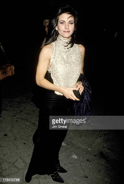 Courteney Cox during 5th Annual Fire and Ice Ball to Benefit Revlon UCLA Women Cancer Center at 20th Century Fox Studios in Century City California...