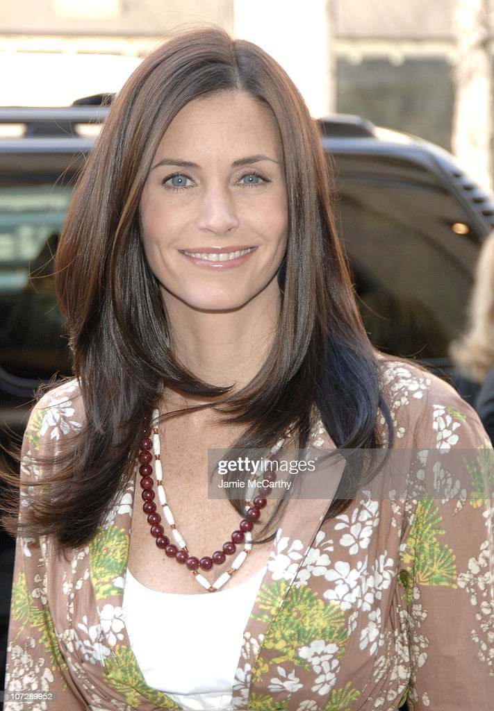 Courteney Cox skin care