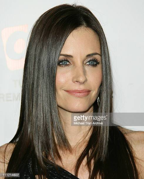 Courteney Cox during 'Dirt' FX Premiere Screening at Paramount Theatre in Los Angeles California United States