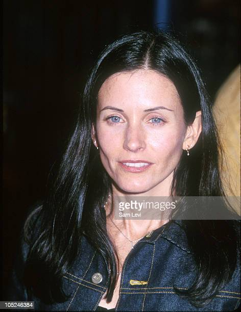 Courteney Cox during 'Fight Club' Los Angeles Premiere at Mann's Village Theater in Westwood California United States