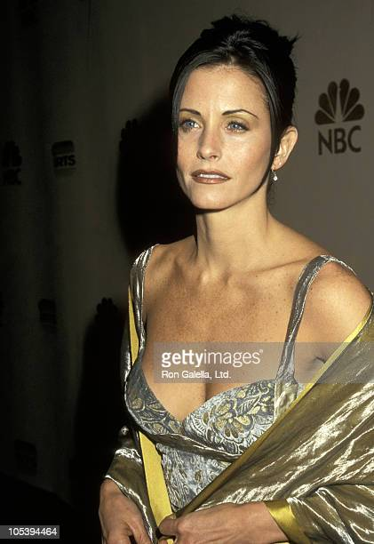 Courteney Cox during IRTS Foundation Gold Medal Award Honors Robert Wright at Waldorf Astoria Hotel in New York City New York United States