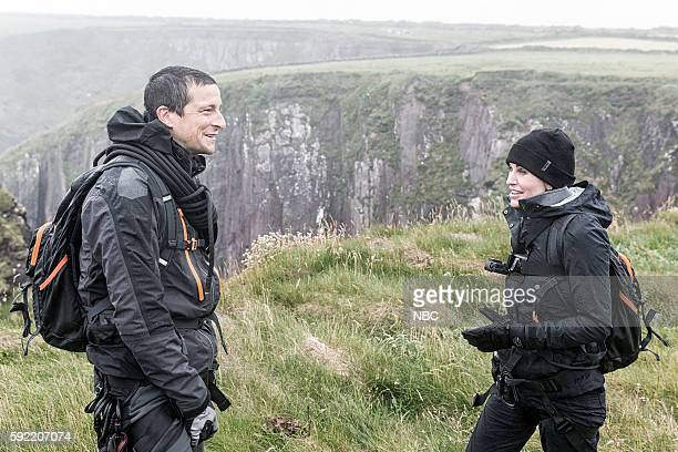 GRYLLS 'Courteney Cox' Episode 306 Pictured Bear Grylls Courteney Cox