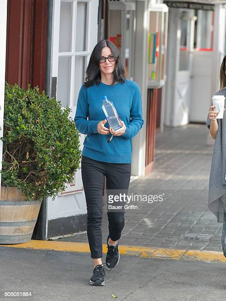 Courteney Cox is seen on January 14 2016 in Los Angeles California