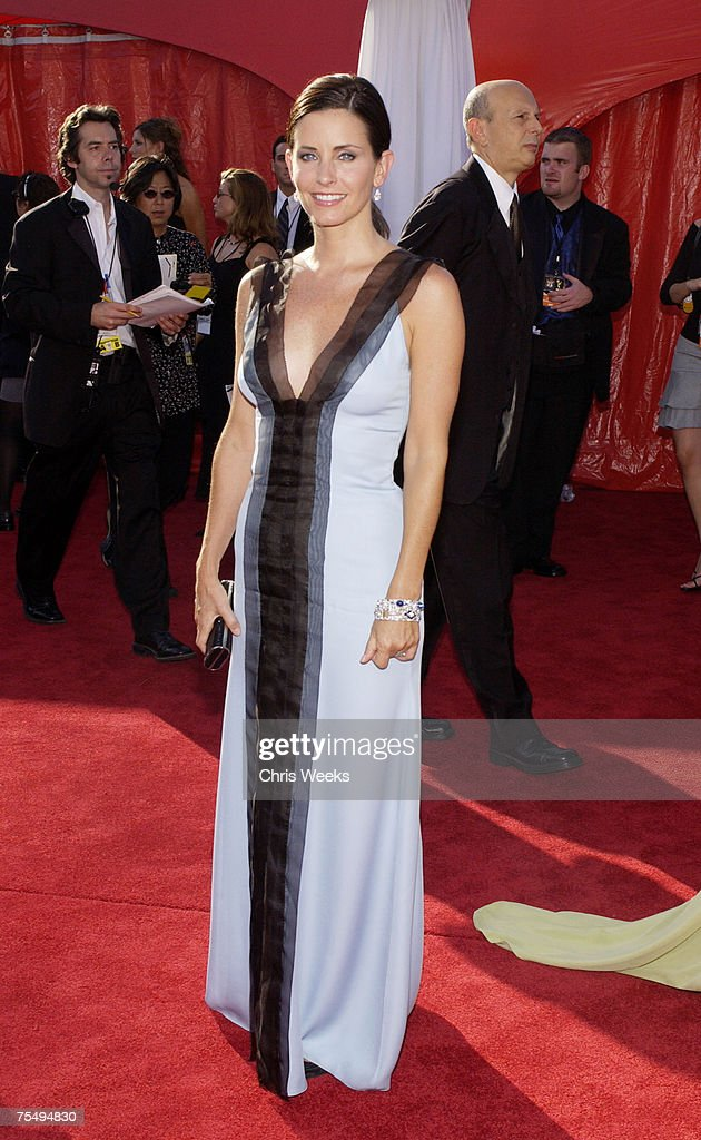Courteney Cox-Arquette at the 55th Annual Primetime Emmy Awards - Arrivals at The Shrine Auditorium in Los Angeles, California.