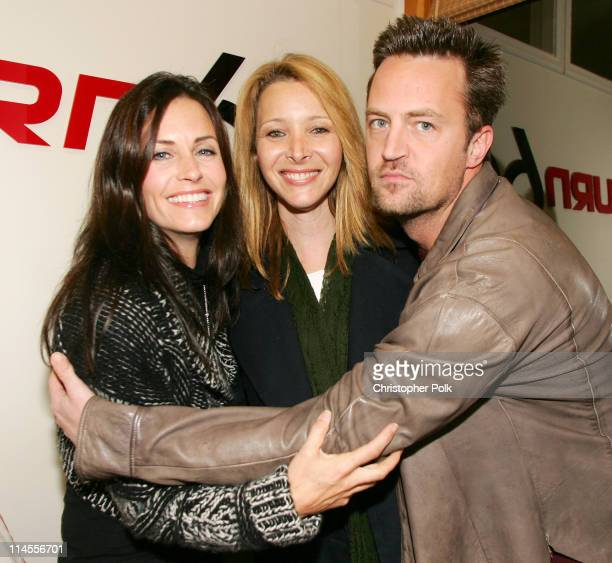 Courteney CoxArquette Lisa Kudrow and Matthew Perry *Exclusive*