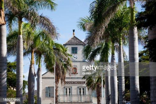 'Courthouse, Philipsburg, St Maarten'