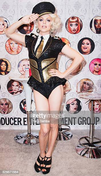 Courtney Act attends 2016 RuPaul's DragCon on May 08 2016 in Los Angeles California