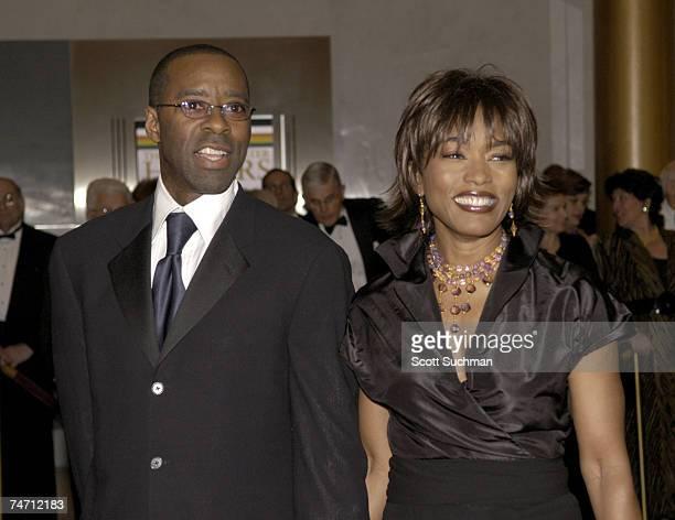 Courtney B Vance and Angela Bassett at the Kennedy Center in Washington DC Washington DC