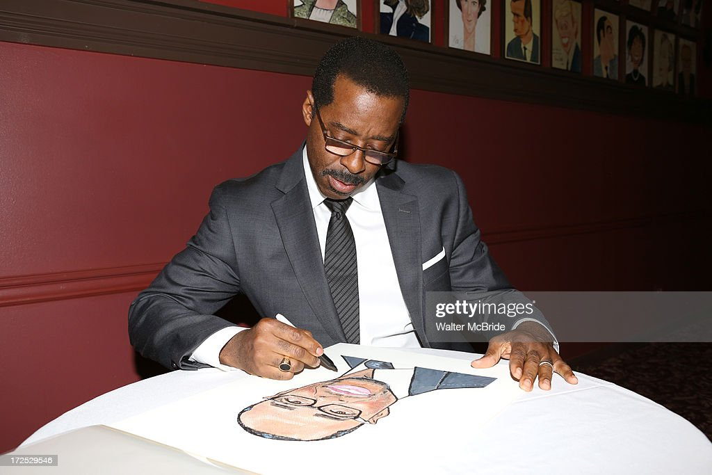 <a gi-track='captionPersonalityLinkClicked' href=/galleries/search?phrase=Courtney+B.+Vance&family=editorial&specificpeople=224059 ng-click='$event.stopPropagation()'>Courtney B. Vance</a> attends <a gi-track='captionPersonalityLinkClicked' href=/galleries/search?phrase=Courtney+B.+Vance&family=editorial&specificpeople=224059 ng-click='$event.stopPropagation()'>Courtney B. Vance</a>'s Caricature Unveiling at Sardi's on July 2, 2013 in New York City.
