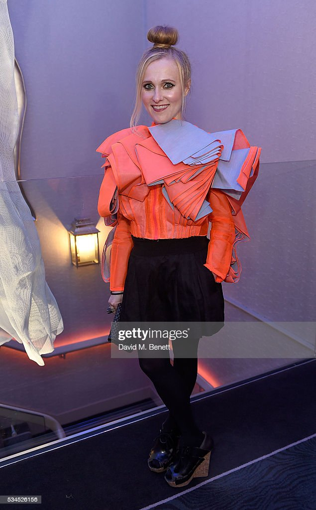 Courtney Blackman arrives at the WGSN Futures Awards 2016 on May 26, 2016 in London, England.