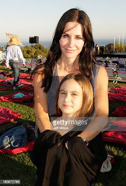 Courtney Cox and daughter Coco attend Eddie Vedder and Zach Galifianakis Rock Malibu Fundraiser for EBMRF and Heal EB on September 15 2013 in Malibu...