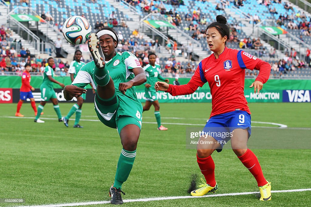 Korea Republic v Nigeria: Group C - FIFA U-20 Women's World Cup Canada 2014