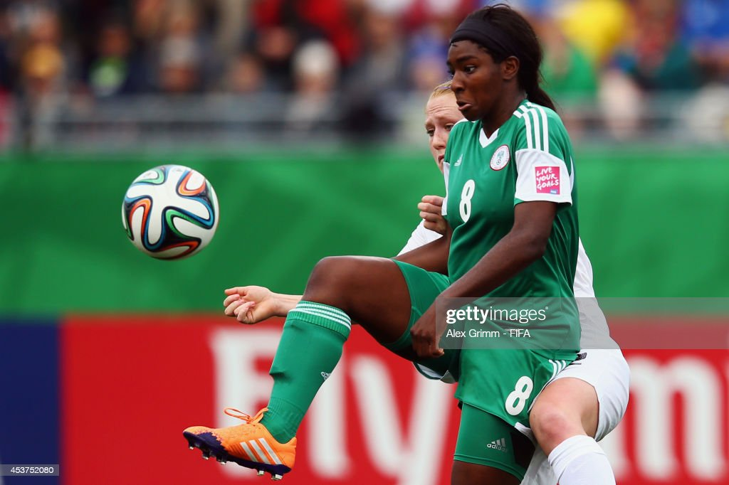 Nigeria v New Zealand: Quarter Final - FIFA U-20 Women's World Cup Canada 2014