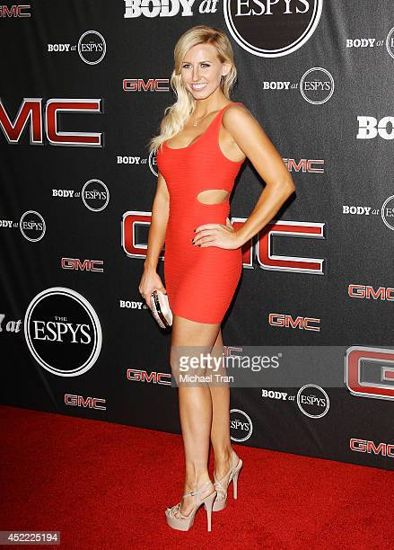 Courtney Force arrives at the BODY at ESPYS PreParty held at Lure on July 15 2014 in Hollywood California