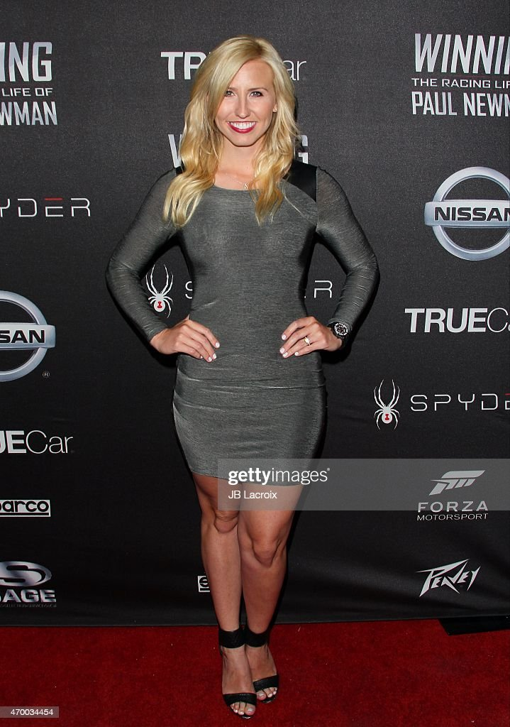 <a gi-track='captionPersonalityLinkClicked' href=/galleries/search?phrase=Courtney+Force&family=editorial&specificpeople=8957288 ng-click='$event.stopPropagation()'>Courtney Force</a> attends a charity screening of the film 'WINNING: The Racing Life Of Paul Newman' at the El Capitan Theatre on April 16, 2015 in Hollywood, California.