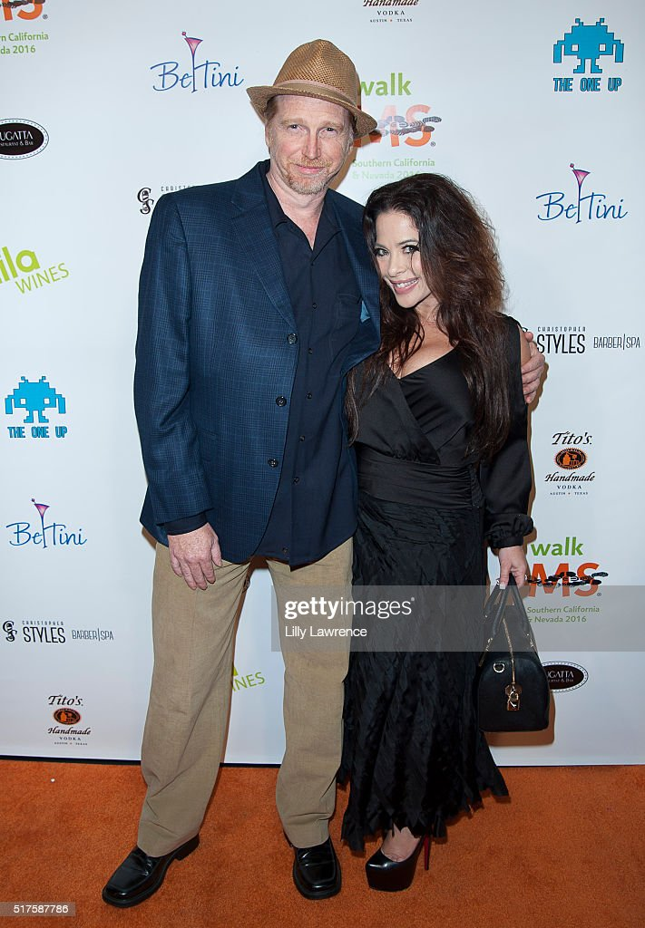 Courtney Gains and Brooke Lewis attend 3rd Annual LA's Walk MS Celebrity Kickoff Event at Bugatta Supper Club on March 25, 2016 in Los Angeles, California.