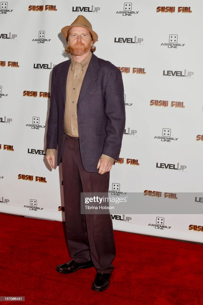 Courtney Gains attends the 'Sushi Girl' Los Angeles premiere at Grauman's Chinese Theatre on November 27, 2012 in Hollywood, California.
