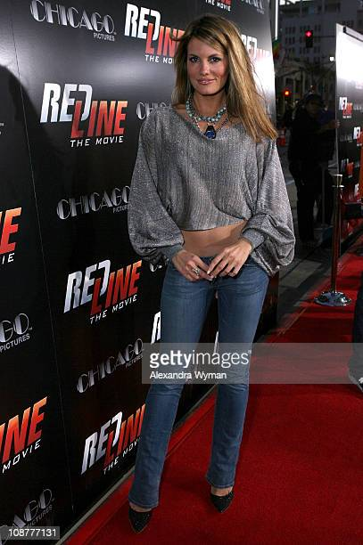 Courtney Hansen during 'Redline' Los Angeles Premiere Red Carpet at Grauman's Chinese Theater in Hollywood California United States