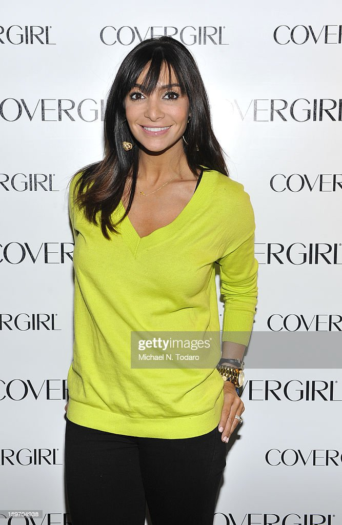 Courtney Laine Lopez attends the TR Suites Daytime Lounge on January 18, 2013 in Park City, Utah.