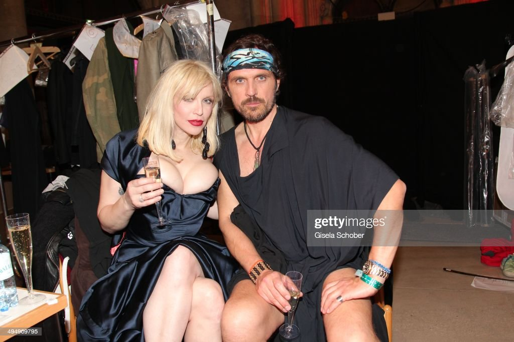 <a gi-track='captionPersonalityLinkClicked' href=/galleries/search?phrase=Courtney+Love&family=editorial&specificpeople=156418 ng-click='$event.stopPropagation()'>Courtney Love</a> and <a gi-track='captionPersonalityLinkClicked' href=/galleries/search?phrase=Andreas+Kronthaler&family=editorial&specificpeople=785246 ng-click='$event.stopPropagation()'>Andreas Kronthaler</a> attend the Life Ball 2014 after show party at City Hall on May 31, 2014 in Vienna, Austria.