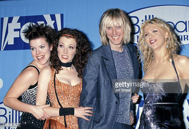 Courtney Love and Hole during The 1998 Billboard Music Awards at MGM Grand in Las Vegas Nevada United States