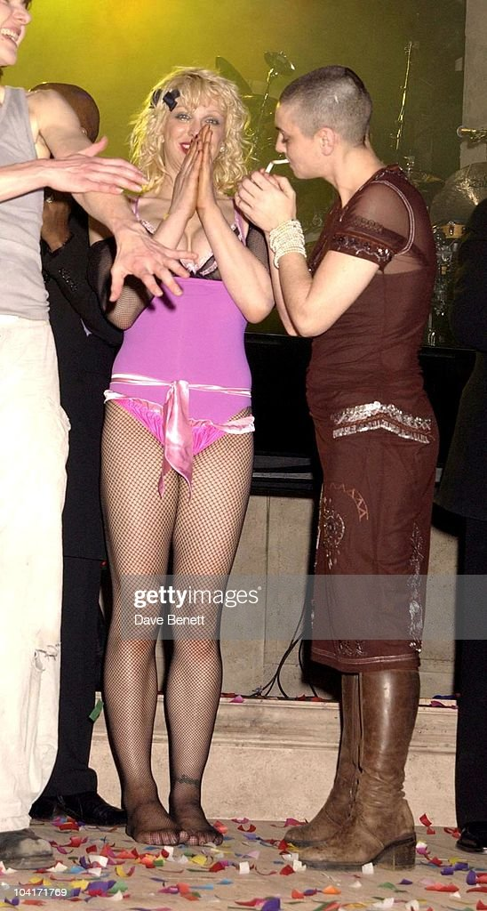 Courtney Love And Sinead O'Connor, The Old Vic Theatre Benefit Party Held At The Old Vic Theatre London.